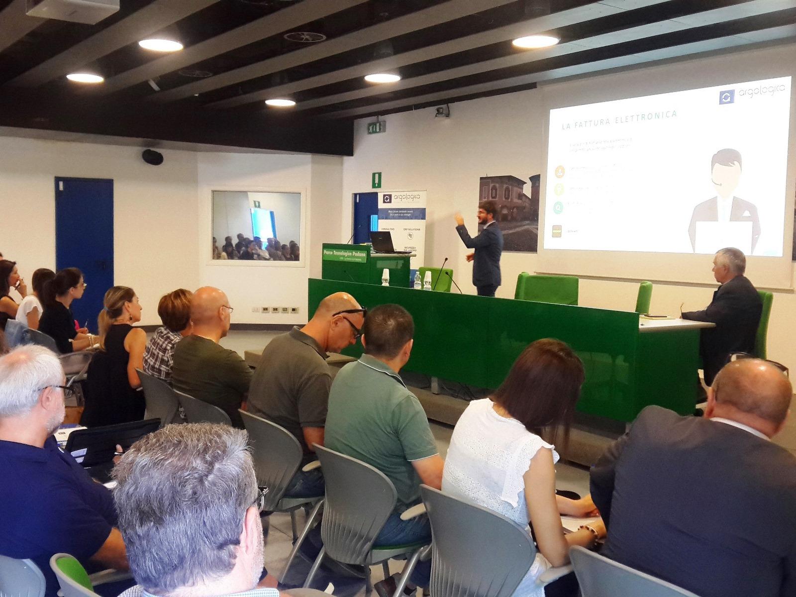 """Formazione sul tema """"Fatturazione elettronica"""" (Parco Tecnologico Padano - Lodi)"""