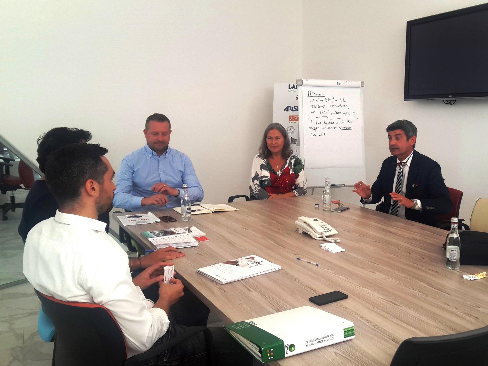 Business meeting con importatori  e distributori esteri settore Ho.Re.Ca. (Agenzia ICE, Timisoara - Romania)