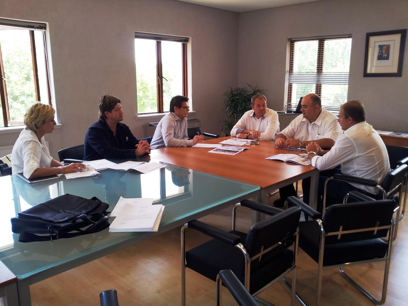 Business meeting con importatori  e distributori esteri settore edile (Agenzia ICE, Johannesburg - Sudafrica)